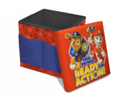 Nickelodeon Paw Patrol Sit-and-Store Folding Ottoman Toy Toy, 38cm x 38cm x 38cm
