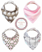Kaydee Baby Modern Bandana Drool Dribble Bibs Gift Set For Boys and For Girls - Choose From Many Options