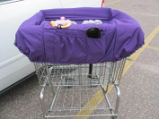On the Go Baby shopping cart cover