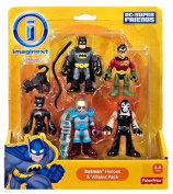 Fisher Price Imaginext DC Super Friends Batman Heroes And Villains Pack