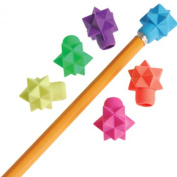 US Toy Assorted Colour 3D Star Design Pencil Toppers