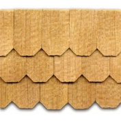 Dollhouse Cedar Hexagon Shingles 140 Pack
