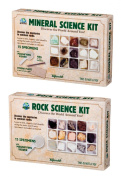 Rock Science Kit & Mineral Sciene Kit Bundle Set