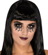 Rubies Web Vixen Face Mask Tattoo