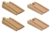 Surface to Wooden Track Ramp - Set of 4
