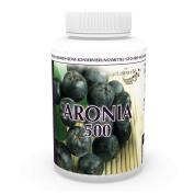 Aronia concentrate 500mg + zinc & selenium 120 vegetarian Capsules Vita World German pharmacy production