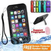 Waterproof Shockproof Heavy Duty Tough Case Cover For Apple iPhone 6S/6S Plus 6 ◆4IN1◆Free Stylus/ Film/ Strap◆3D Touch◆SYD Fast Ship / BLACK COLOUR SHIPPING EXPRESS COURIER