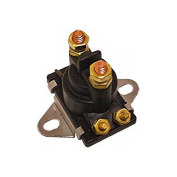 Marine 12V Solenoid for Mercury Mercruiser 35-275 HP replaces 89-96158T Curved Base