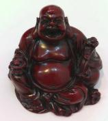 Feng Shui Money Lucky Laughing Buddha Statue Holding Ru Yi & Ingot