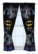 Warner Bros Batman Safe Again Window Drapes, 210cm x 160cm