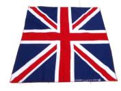 50x50 cm Great Britain Handkerchief Cotton pocket square Hanky Bandana Scarf Hankie Headband World Cup Great Britain Flag