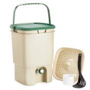 Chef's Star 18.9l Air Tight Indoor Bokashi Bucket Kitchen Compost Kit