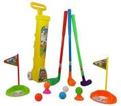 Children's Toddler Plastic Toy Golf Play Set