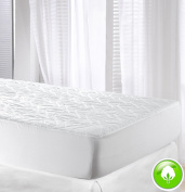 Velfont High Quality Cotton Quilted Mattress Protector / Mattress Pad, Single Size