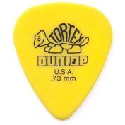 Dunlop 418P.73 Tortex® Standard, Yellow, .73mm, 12/Player's Pack