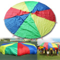 Hangqi 2M Large Play Colourful Parachute Kids Children Outdoor Game Exercise Sport Toy