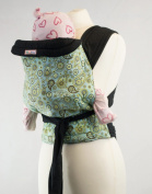 Palm and Pond Mei Tai Baby Carrier - Blue and Yellow Paisley