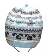 Baby Boy Knitted Hat Infant Boys Autumn Winter Cap 0 3 6 9 12 18 mths