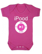 Purple Penguin Clothing Baby Grow - iPood