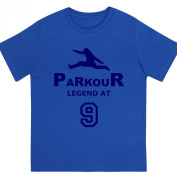 "Boys ""Parkour Legend at 23cm Birthday T Shirt Gift for Aspiring Free Running Enthusiasts"