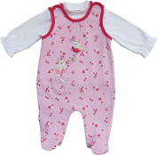 Schnizler Baby-Girls Clothing Set Nicki Beetle Neck Long Sleeve Romper