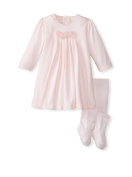 Emile Et Rose Stretch S/J Dress With Pleated Front