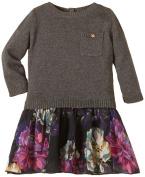 MEXX Baby Girls 0-24m Mini Girls Dress Flatknit Dress