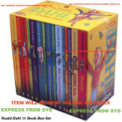 ROALD DAHL 15 BOOK COLLECTION CLASSIC CHILDRENS STORY BOOKS BOX SET NEW / EXPRESS FROM SYDNEY SELLER WITH DHL OR FEDEX