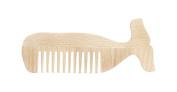 Kikkerland Whale Beech Wood Comb
