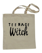 Natural Cotton Shopping Bag With Text