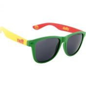 Neff Daily Men's Lifestyle Sunglasses - Rasta / One Size Fits All