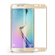 Galaxy s6 Edge Screen Protector,LANDFOX Full Coverage PET 3D Curved Film Screen Protector for Samsung Galaxy S6 Edge