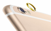 iphone 6 Plus Rear Camera Lens Protective Lens Cover Ring, YELLOW