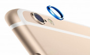 iphone 6 Rear Camera Lens Protective Lens Cover Ring, BLUE