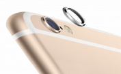 iphone 6 Rear Camera Lens Protective Lens Cover Ring, SILVER