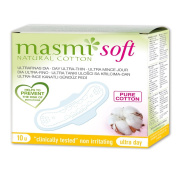 Masmi Soft Pure Cotton Ultra-Thin Day Sanitary Towels