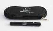 ICE Medical Black LED Medical Penlight / Pentorch Pocket Torch Light with Zip Up Black Pouch
