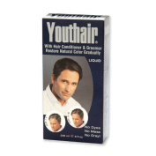 YOUTHAIR Liquid for Men with Hair Conditioner & Groomer Restore Natural Colour Gradually 8oz/236ml