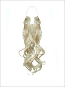 """HIDDEN HALO"" CURLY - 46cm HEAT-FRIENDLY fibre"