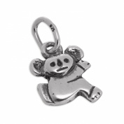 Small Sterling Silver Koala Bear Charm