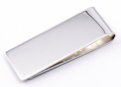 Solid sterling silver 925 money clip hand made in Italy