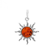 Nature d'ambre 1000e Pendant Sterling Silver and Amber