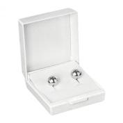 Jouailla Earring Plastic-White