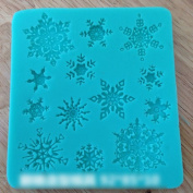 MMRM Snowflakes Design Baking Craft Candy Cake Tray Mould Xmas Dessert Pastry Decoration