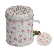 dotcomgiftshop La Petite Rose Design Flour Shaker