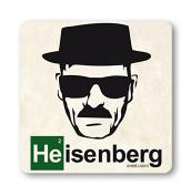 Coaster Heisenberg - Drink Mat TV - Breaking Bad - original licenced product - LOGOSHIRT