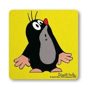 Coaster The Mole - Oooh - Drink Mat TV - Krtek - Nostalgia - original licenced product - LOGOSHIRT
