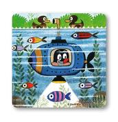 Coaster The Mole - Submarine - Drink Mat TV - Krtek - Sub - Nostalgia - original licenced product - LOGOSHIRT
