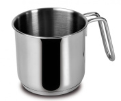 Lagostina Every Milk Pan, Stainless Steel, Diameter 12 cm, 1.4 Litres