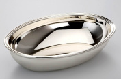 Oval Bowl 22 CM Silver-Plated and Tarnish-Resistant